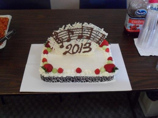 Happy 2013 cake :)