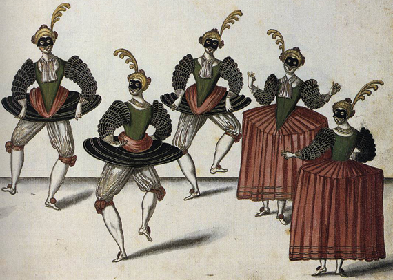 """Daniel Rabbel: """"The Royal Ballet of the Dowager of Bilbao's Grand Ball"""" (1626)"""